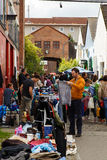 lördag loppmarknad Arkivbild