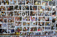 lördag mödrar (Cumartesi Anneleri) Gezi parkerar motståndsfotoet royaltyfri foto