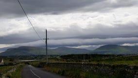 Lös atlantisk väg i Irland Arkivfoton