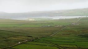 Lös atlantisk väg i Irland royaltyfria bilder