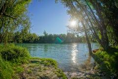 Lös Brenta flod Royaltyfri Fotografi