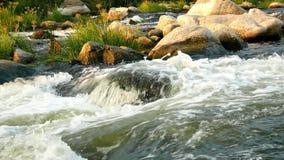 Lös flodbergnatur lager videofilmer