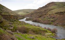 Lös scenisk korridor Oregon för djup klyftaDeschutes flod Royaltyfria Bilder