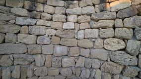 Lös stenvägg lager videofilmer