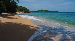 Lös strand i Phuket Royaltyfri Fotografi