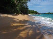 Lös strand i Phuket Arkivfoton