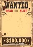 Lös västra skottpengar eller önskat papper Royaltyfri Fotografi
