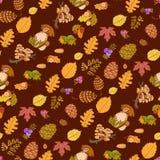 Lösa beståndsdelar för sömlös färg av naturen, Arkivfoton