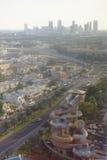 Lösa Wadi Water Park och Dubai arkivbild