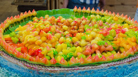 Löschbare nachgemachte Früchte lizenzfreies stockfoto