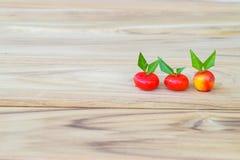 Löschbare nachgemachte Früchte Stockfoto