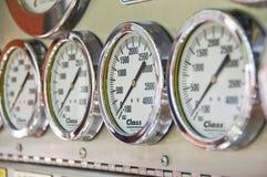 Löschfahrzeug-Pumpen-Steuerung lizenzfreies stockbild