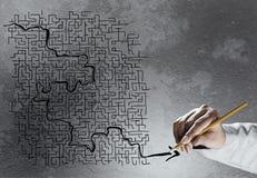 Lösen von Problemen Stockbilder
