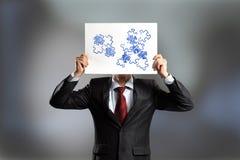 Lösen von Problemen Stockfoto
