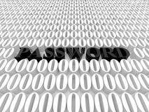 lösenord Fotografering för Bildbyråer