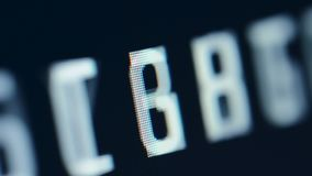 Lösenordsökande som kodar hacka begrepp stock video