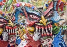 Löst fira för demoner Royaltyfria Bilder