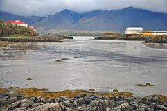 Löst icelandic landskap royaltyfri fotografi