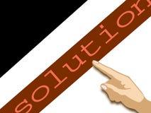 Lösung Lizenzfreies Stockbild
