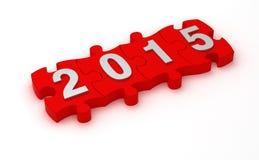 Lösung 2015 Lizenzfreie Stockfotos