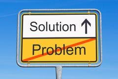 Lösung zum Problemzeichen Stockbilder