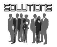 Lösungen Lizenzfreie Stockfotos