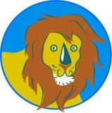 Löwe stock abbildung