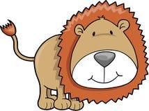 Löwe-Abbildung vektor abbildung