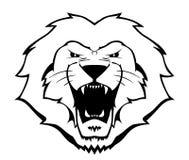 Löwe-Abbildung stock abbildung