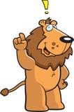 Löwe-Ausruf stock abbildung