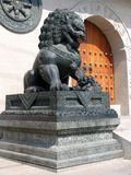 Löwe bei Jing ein Tempel stockbilder