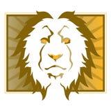Löwe-Kopf Stockfoto