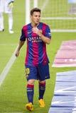 Löwe Messi von FC Barcelona Stockbilder