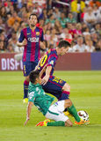 Löwe Messi von FC Barcelona Lizenzfreie Stockbilder