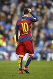 Löwe Messi von FC Barcelona Lizenzfreies Stockbild