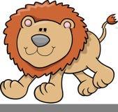 Löwe-vektorabbildung lizenzfreie abbildung