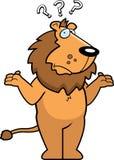 Löwe verwirrt stock abbildung