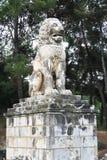 Löwe von Amphipolis Lizenzfreie Stockbilder