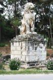 Löwe von Amphipolis Stockbild