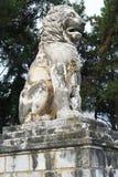 Löwe von Amphipolis Lizenzfreies Stockfoto