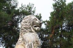 Löwe von Amphipolis Stockfotos