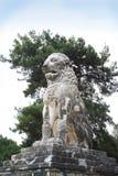 Löwe von Amphipolis Stockfotografie