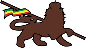 Löwe von judah Lizenzfreies Stockfoto