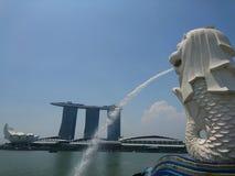 Löwe von Singapour Stockbild