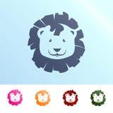 Löweabbildung Stockfoto