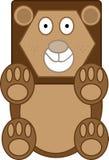 Löwekarikatur Lizenzfreie Abbildung
