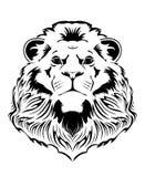 Löwekopf lizenzfreie abbildung