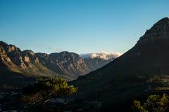 Löwen Haupt-Cape Town lizenzfreie stockfotos