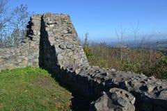 Löwenburg的废墟 图库摄影