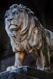 Löweskulptur Lizenzfreie Stockfotos